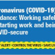 making your workplace covid-secure